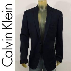 Calvin Klein Notch Wool Blazer